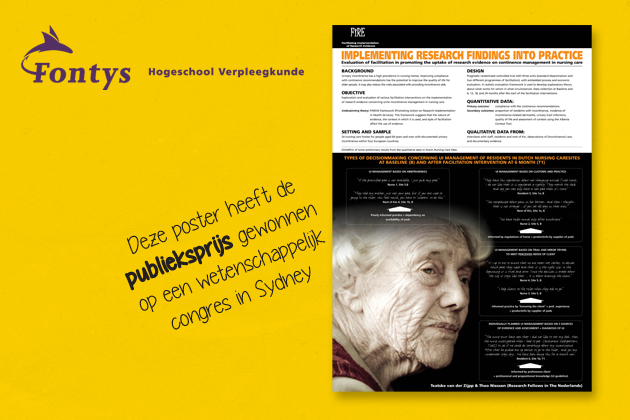 Fontys poster achtergrond
