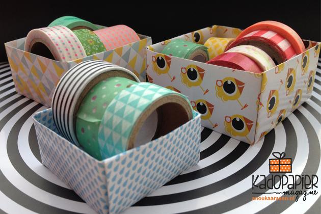 washi tape doosjes
