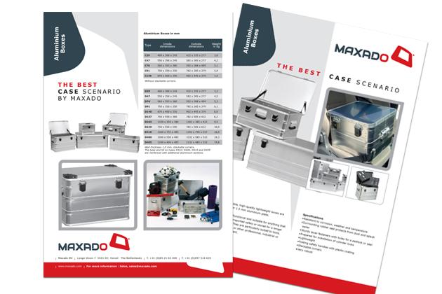 Maxado leaflets